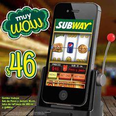Subway Promoción Combo Sub pavo y jamón más lata de refresco más galleta