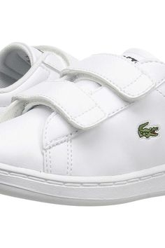 Lacoste Kids Carnaby Evo BL 1 SP17 (Toddler/Little Kid) (White/Navy) Kids Shoes - Lacoste Kids, Carnaby Evo BL 1 SP17 (Toddler/Little Kid), 7-33SPI1003-042, Footwear Athletic General, Athletic, Athletic, Footwear, Shoes, Gift, - Street Fashion And Style Ideas