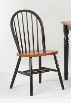 Country Marketplace - Windsor Dowel Back Solid Birch Side Chair, $75.00 (http://www.countrymarketplaces.com/windsor-dowel-back-solid-birch-side-chair/)