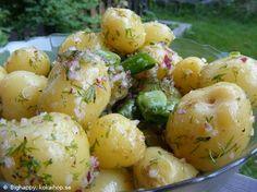 Recept - Potatissallad med vinägrett