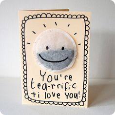 you're tea-rrific card £2.75