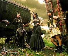 Steampunk Divas