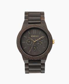 WeWOOD Hodinky KAPPA Black Gold 3890 Kč
