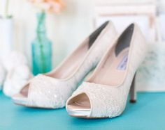 Wedding Shoes P Toe Low Heel And High Bridal Embellished With Ivory French Lace White Silk Flower Crystals Pearls