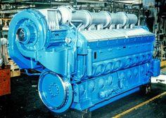 General Motors, Locomotive Engine, Truck Engine, Combustion Engine, Heavy Machinery, Tug Boats, Iron Age, Mechanical Engineering, Diesel Trucks