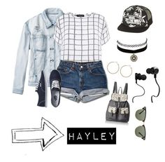 """""""Coley"""" by d-regina-f-r on Polyvore featuring moda, Monster, RVCA, Myne, Charlotte Russe, Lane Bryant, T-shirt & Jeans, Ray-Ban y Vans"""