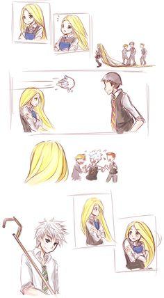 Jackunzel : Bullies by Nerah-chan.deviantart.com on @deviantART