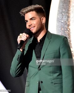 Singer Adam Lambert speaks onstage during the 2014 iHeartRadio Music Awards held at The Shrine Auditorium on May 1, 2014 in Los Angeles, California. iHeartRadio Music Awards are being broadcast live...