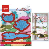 NEW 2017 - Marianne Design - Creatables Dies - Tiny's Small Waterlily LR0459
