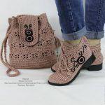 Örgü Ayakkabı ve Bot Yapımı «  Kadinlarin sesi,kadın,yemek,örgü,elişi,bebek örgü modelleri