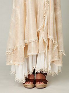 Moonbeam Maxi Skirt