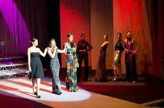 AL MEDMODA 2013 LA SENSUALITA' DEL TANGO CON L'ALTA MODA DI MICHELE MIGLIONICO La cantante Ana Karina Rossi e le modelle con abiti Michele Miglionico