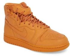 See more about nike shoes. Shop the latest fashion items from the top brands and retailers. Sports Trainers, Nike Trainers, Nike Shoes, Sneakers Nike, Sneakers Street Style, Vintage Sneakers, Orange Shoes, Jordan 1, Jordan Nike