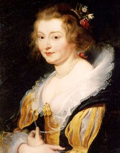 Lady Katherine Manners by Peter Paul Rubens (Palazzo Pitti, Firenze Italy) | Grand Ladies | gogm