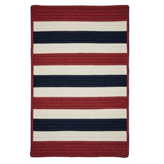 Breakwater Bay Andover Red Area Rug Rug Size: