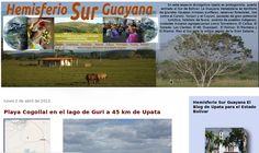 Blog Material Gráfico Textos Reflexiones Información sobre los paisajes naturales y humanos de la Guayana Venezolana. Hemisferio Sur Guayana desde Upata para el Mundo