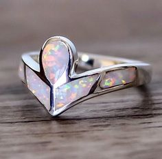 Angel Opal Ring || Available in our 'Mermaid' Collection || www.indieandharper.com