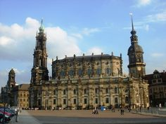 Hofkirche—Catholic church in Dresden's city centre, containing a famous organ of mid 18th century
