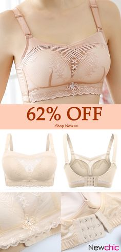 b61e600ece46f Push Up Breathable Lace Side Support Cami Bras  bras  breathable  cami  lace