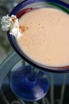 Martie Knows Parties - BLOG - Holiday Drink Recipes: Oatmeal Cookie Martini