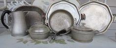 10 PC Set Vintage Guardian Service Ware Aluminum Cookware Roaster Lid Tray Pot