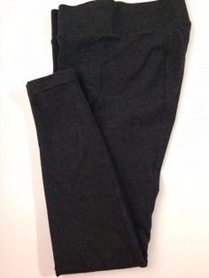 15.78$  Buy here - http://vieiy.justgood.pw/vig/item.php?t=ty96ips9287 - Ann Taylor Ponte Knit Leggings - Charcoal Grey Heather - Stretch - Size 4