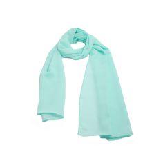 Echarpe Linhas Coloridas em tecido satin chiffon lisa na cor verde água. #echarpe #echarpes #lenços #lenço #moda #modafeminina #acessórios #acessóriosfemininos #scarf #scarfs #fashion #womensfashion #femalleacessories