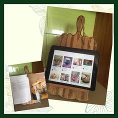 #Kitchen tablet/recipe book holder homemade