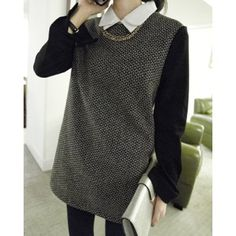 Wholesale Trendy Style Turn-Down Collar Print Spliced Long Sleeve Women's Dress (AS THE PICTURE,ONE SIZE(FIT SIZE XS TO M)) | Everbuying