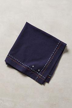 Kantha Stitched Table Linen - anthropologie.com