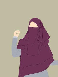 Cute Walpaper, Islamic Cartoon, Anime Muslim, Hijab Cartoon, Islamic Girl, Popular Art, Anime Girl Cute, Girl Hijab, Cartoon Images