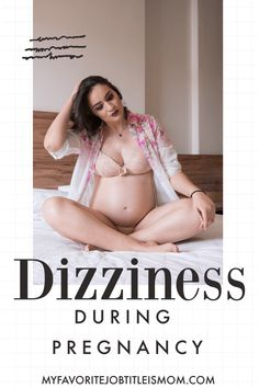 Dizziness is a common symptomof pregnancy, but that doesn't make it any less annoying or concerning. Here are some causes and preventions. First Trimester Tips, Pregnancy First Trimester, Trimesters Of Pregnancy, Third Trimester, First Time Pregnancy, Early Pregnancy Signs, Pregnancy Tips
