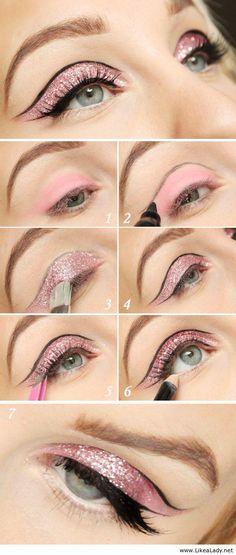 10 tutoriels de maquillage des yeux pour la fête de fin d'année 2014   Astuces pour femmes