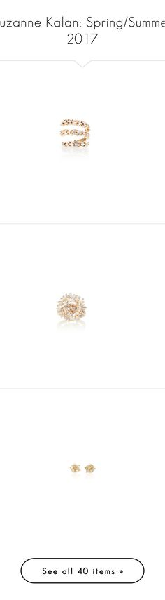 """""""Suzanne Kalan: Spring/Summer 2017"""" by livnd ❤ liked on Polyvore featuring jewelry, rings, 18k yellow gold ring, 18 karat gold ring, 18k ring, suzanne kalan rings, gold jewellery, gold ring, 18 karat gold jewelry and white gold topaz ring"""