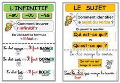 Affichage sujet-verbe CE1                                                                                                                                                     Plus