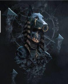 Gods of Egypt,Anubis - Gods of Egypt,Anubis -You can find Cinematography and more on our website.Gods of Egypt,Anubis - Gods of Egypt,Anubis - Anubis Tattoo, Arte Obscura, Egyptian Mythology, Egypt Art, Dark Fantasy Art, Gods And Goddesses, Skull Art, Mythical Creatures, Character Art