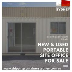 At Shipping Containers Sydney, we have the largest in and we specialise in for all industries and businesses. For more infomation, give us a call at 02 8397 4999 or visit our website. Sydney News, Shipping Containers For Sale, Site Office, Australia, Website, Outdoor Decor, Home Decor, Decoration Home, Room Decor