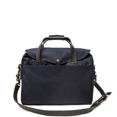 フィルソン | BRIEFCASE COMPUTER BAG (NAVY)