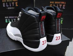 Air Jordan Retro 12 - Playoff & of my favorites& Nike Shoes Cheap, Nike Free Shoes, Nike Shoes Outlet, Nike Basketball Shoes, Street Basketball, Jordan Basketball, Basketball Hoop, Basketball Birthday, Basketball Legends