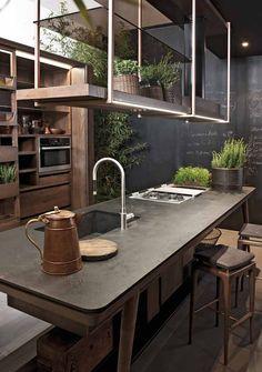 Дизайнерская кухня La Cucina от фабрики Shake (Luciano Zonta)
