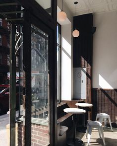 ludlow coffee supply | lower east side, NYC // didn't get to sit in this lovely…