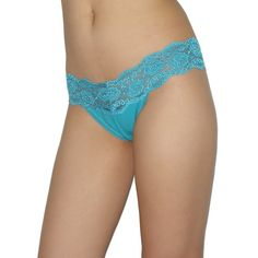 Womens Sexy Low Rise Lace Thong / Underwear Briefs Panties - Mdium $9.97
