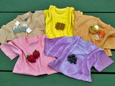 How to Dye a Shirt with Veggies and Fruits