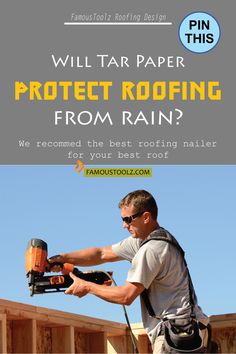 If you are looking for the best roofing nailer in the market, then this article is for you. We have shared the 'BEST PERFORMERS' currently in the market. Roofing Tools, Roofing Felt, Roof Terrace Design, Roof Design, Roofing Nailer, Porch Roof, Roof Colors, Cool Roof, Roof Structure