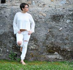 Como cualquier novia, este verano sigue vistiendo al estilo Winter white