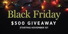 Win a $500 HOLIDAY Shopping Spree! http://upvir.al/ref/10433852 Ends 11/30 #Holiday #Sweepstakes