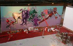 David Choe's Mural