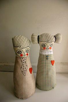 wonderful handmade dolls by Cara Carmina..
