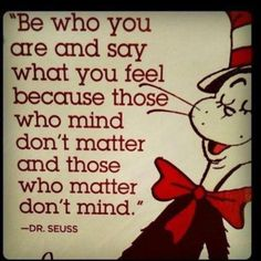 Nothing better the dr. Seuss