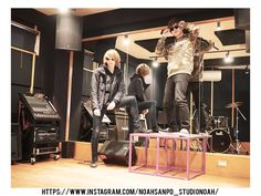 【NOAH散歩】サウンドスタジオノア野方店にお散歩。(イケメンたちの厳選写真多数) #studionoah #美男 #イケメン #スタジオ #リハスタ #野方 #西武新宿線 #ステージ #お立台